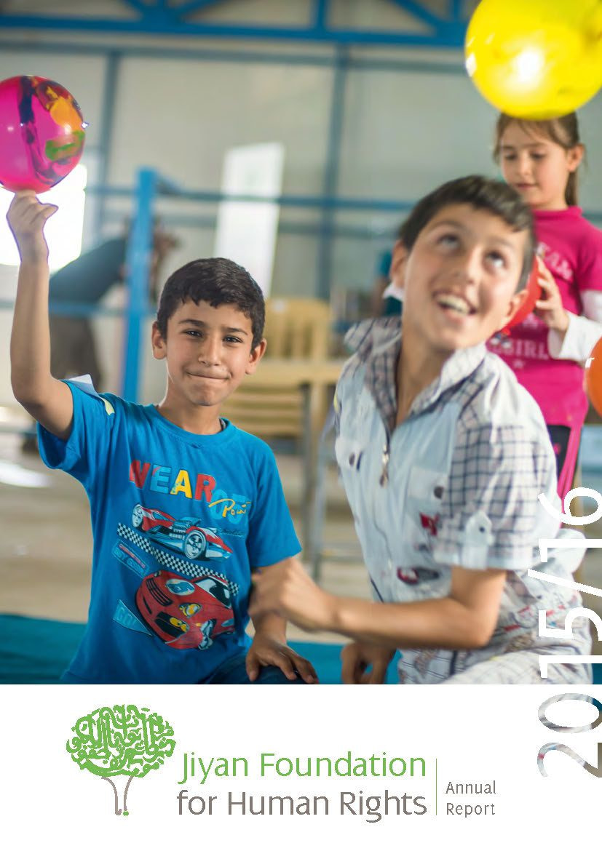 Jiyan Foundation for Human Rights Jahresbericht 2015/16